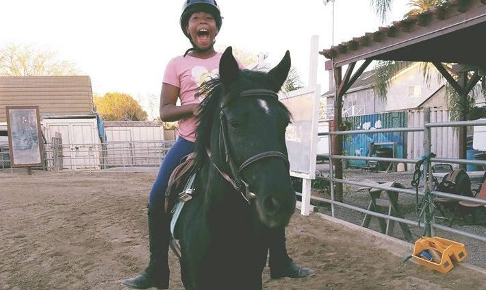 Jr. Posse Youth Equestrian has a great summer camp for kids.